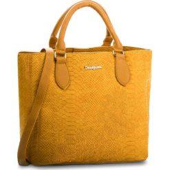 Torebka DESIGUAL - 18WAXPC4 8019. Żółte torebki do ręki damskie Desigual, ze skóry ekologicznej. Za 349.90 zł.