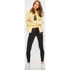 Adidas Originals - Biustonosz. Szare biustonosze adidas Originals, z dzianiny. W wyprzedaży za 139.90 zł.