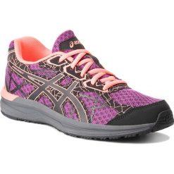 Buty ASICS - Endurant T792N  Dark Purple/Black/Flash Coral. Fioletowe obuwie sportowe damskie Asics, z materiału. W wyprzedaży za 149.00 zł.