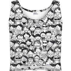 Colour Pleasure Koszulka damska CP-035 137 czarno-biała r. M/L. T-shirty damskie Colour Pleasure. Za 64.14 zł.