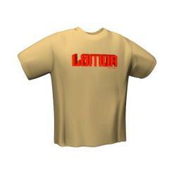 GamersWear Koszulka  LAMOR T-Shirt Sand (M) (5027-M). Brązowe t-shirty i topy dla dziewczynek GamersWear. Za 56.80 zł.