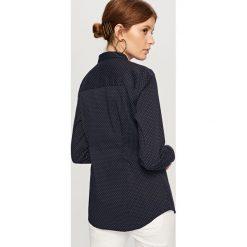 Elegancka koszula - Granatowy. Koszule damskie Reserved, eleganckie. Za 59.99 zł.