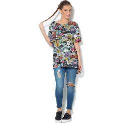Colour Pleasure Koszulka CP-033  107 miętowa  r. uniwersalny. Bluzki damskie marki Colour Pleasure. Za 76.57 zł.