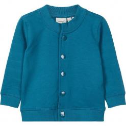 """Kurtka """"Sebu"""" w kolorze morskim. Niebieskie kurtki i płaszcze dla chłopców Name it Baby, z bawełny. W wyprzedaży za 42.95 zł."""