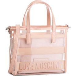 Torebka LOVE MOSCHINO - JC4326PP06KW100A  Pin Grain/Fur Nero. Czerwone torebki do ręki damskie Love Moschino, z materiału. W wyprzedaży za 479.00 zł.