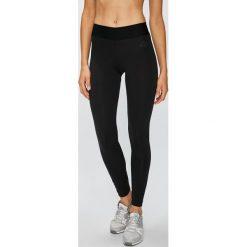 Adidas Performance - Legginsy. Czarne legginsy damskie adidas Performance, z bawełny. Za 179.90 zł.