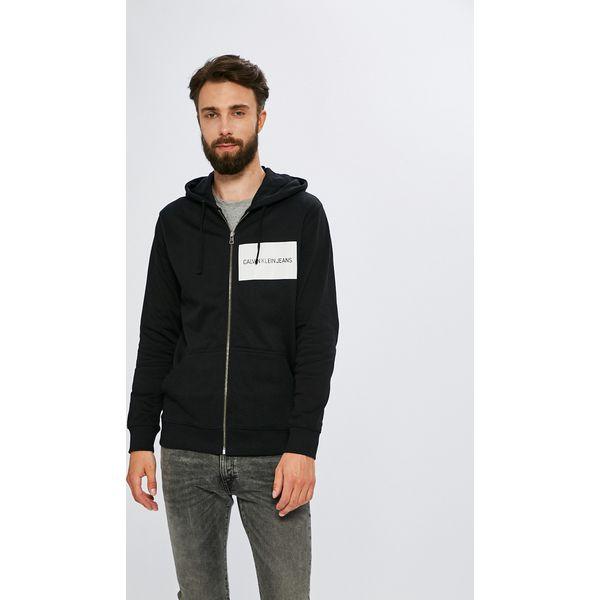 17cb3aa97a75a Calvin Klein Jeans - Bluza - Bluzy męskie marki Calvin Klein Jeans. W  wyprzedaży za 359.90 zł. - Bluzy męskie - Odzież męska - Dla mężczyzn -  Chillizet.pl