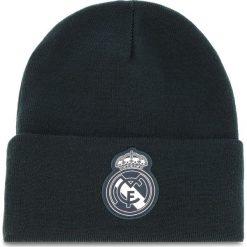 Czapka adidas - Real 3S Woolie CY5599 Teconi/White. Niebieskie czapki i kapelusze męskie Adidas. Za 69.00 zł.
