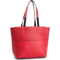 Torebka CALVIN KLEIN - Dual Shopper K60K604473 626. Czerwone torebki shopper damskie Calvin Klein, ze skóry ekologicznej. Za 599.00 zł.
