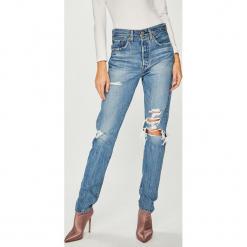 Levi's - Jeansy 501. Brązowe jeansy damskie Levi's. Za 449.90 zł.