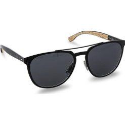 Okulary przeciwsłoneczne BOSS - 0882/S Matt Black 0S2. Okulary przeciwsłoneczne damskie Boss, z tworzywa sztucznego. W wyprzedaży za 689.00 zł.