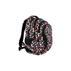 Plecak młodzieżowy St.Right Heartbeat. Czarna torby i plecaki dziecięce St-Majewski, z materiału. Za 117.00 zł.