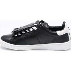 Pepe Jeans - Buty Brompton Basic. Czarne obuwie sportowe damskie Pepe Jeans, z gumy. W wyprzedaży za 219.90 zł.