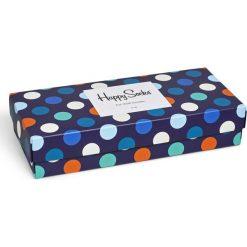Happy Socks - Skarpety Gift Box (4-pack). Szare skarpety męskie Happy Socks, z bawełny. W wyprzedaży za 99.90 zł.