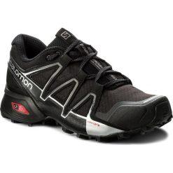 Buty SALOMON - Speedcross Vario 2 402390 27 V0 Black/Black/Silver Metallic-X. Czarne buty sportowe męskie Salomon, z materiału. W wyprzedaży za 349.00 zł.