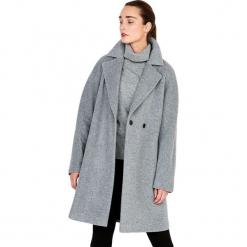 Płaszcz w kolorze szarym. Szare płaszcze damskie Ostatnie sztuki w niskich cenach, na zimę. W wyprzedaży za 599.95 zł.