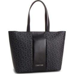 Torebka CALVIN KLEIN - Mono Block Shopper K60K604691 904. Czarne torebki shopper damskie Calvin Klein, ze skóry ekologicznej. Za 649.00 zł.