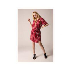 Sukienka kimono biała. Czerwone sukienki damskie Holystic, z tkaniny. Za 374.00 zł.