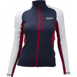 Swix Bluza Damska Dynamic Niebieski/Biały L. Białe bluzy damskie Swix, z materiału. Za 345.00 zł.