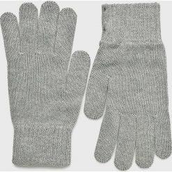 Mustang - Rękawiczki. Szare rękawiczki męskie Mustang, z bawełny. Za 59.90 zł.