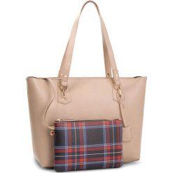 Torebka LIU JO - M Tote E/W Hawaii N68146 E0554 Cammel 51314. Brązowe torebki do ręki damskie Liu Jo, ze skóry ekologicznej. W wyprzedaży za 419.00 zł.