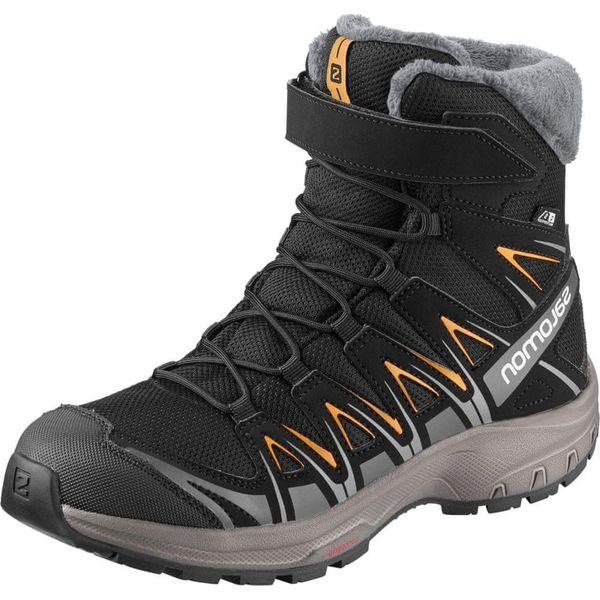Salomon buty zimowe membranowe chłopięce XA PRO 3D WINTER TS CSWP J 35 czarne