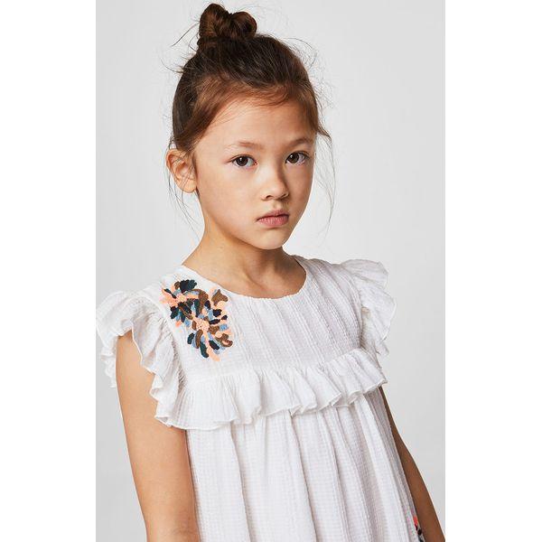 6fe77bcf6f Mango Kids - Sukienka dziecięca Clot 110-152 cm - Sukienki dla ...