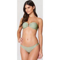 NA-KD Swimwear Dół od bikini - Green. Zielone bikini damskie NA-KD Swimwear. Za 40.95 zł.