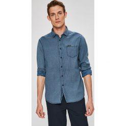 Guess Jeans - Koszula. Szare koszule męskie Guess Jeans, z jeansu, z długim rękawem. W wyprzedaży za 269.90 zł.