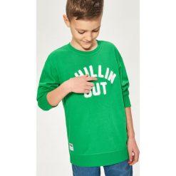 Bluza z aplikacją - Zielony. Bluzy dla chłopców Reserved, z aplikacjami. Za 49.99 zł.
