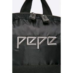 Pepe Jeans - Plecak. Czarne plecaki damskie Pepe Jeans, z jeansu. W wyprzedaży za 199.90 zł.