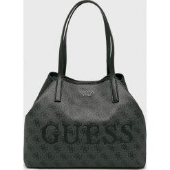 Guess Jeans - Torebka. Szare torby na ramię damskie Guess Jeans. Za 589.90 zł.