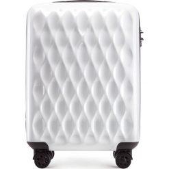Walizka kabinowa 56-3H-551-88. Białe walizki damskie Wittchen, z gumy. Za 179.00 zł.