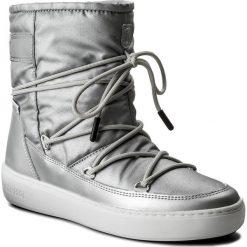 Śniegowce MOON BOOT - Pulse Nylon Plus Wp 24102500002 Argento. Szare śniegowce i trapery damskie Moon Boot, z materiału. Za 679.00 zł.
