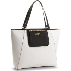 Torebka MY TWIN - Shopping RS8TCP  Bic.Ottico/Nero 01045. Białe torebki do ręki damskie My Twin, ze skóry ekologicznej. W wyprzedaży za 379.00 zł.
