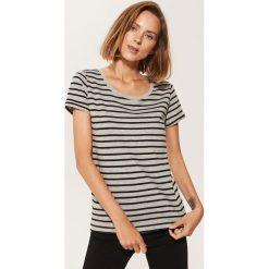 T-shirt basic - Jasny szar. Szare t-shirty damskie House. Za 19.99 zł.