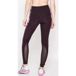 Nike - Legginsy. Szare legginsy damskie Nike, z dzianiny. W wyprzedaży za 119.90 zł.