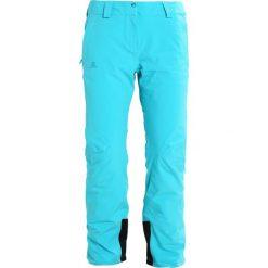 Salomon ICEMANIA  Spodnie narciarskie bluebird. Spodnie snowboardowe damskie Salomon, z elastanu, sportowe. W wyprzedaży za 773.10 zł.