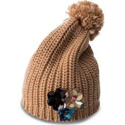 Czapka TWINSET - Cappello OA7T6W  Suntan 00539. Brązowe czapki i kapelusze damskie Twinset, z materiału. W wyprzedaży za 229.00 zł.