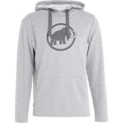 Mammut LOGO HOODY MEN Bluza z kapturem granit melange/titanium. Bluzy sportowe męskie Mammut, z bawełny. W wyprzedaży za 356.15 zł.