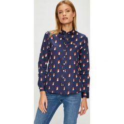U.S. Polo - Koszula. Szare koszule damskie U.S. Polo, z bawełny, klasyczne, z klasycznym kołnierzykiem, z długim rękawem. W wyprzedaży za 279.90 zł.