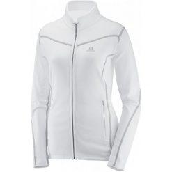Salomon Bluza Polarowa Atlantis Fz W White S. Bluzy sportowe damskie Salomon, z polaru. W wyprzedaży za 309.00 zł.