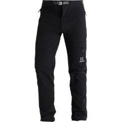 Haglöfs LIZARD PANT MEN Spodnie materiałowe true black. Spodnie materiałowe męskie marki House. Za 629.00 zł.