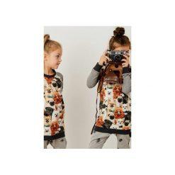 Bluza PUPPY. Szare bluzy dla dziewczynek Cudikids, melanż, z bawełny, z długim rękawem. Za 79.00 zł.