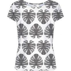 Colour Pleasure Koszulka damska CP-034 273 biało-czarna r. XXXL/XXXXL. T-shirty damskie Colour Pleasure. Za 70.35 zł.