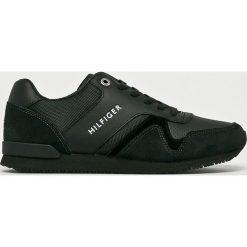 Tommy Hilfiger - Buty. Czarne buty sportowe męskie Tommy Hilfiger, z gumy. W wyprzedaży za 349.90 zł.