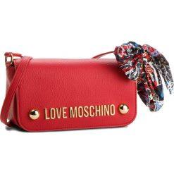 Torebka LOVE MOSCHINO - JC4126PP16LV0500 Rosso. Czerwone listonoszki damskie Love Moschino, ze skóry ekologicznej. W wyprzedaży za 459.00 zł.