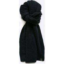 Jack & Jones - Szalik Neal. Czarne szaliki męskie Jack & Jones, z bawełny. W wyprzedaży za 69.90 zł.