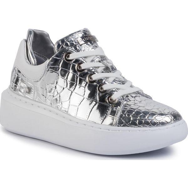 Sneakersy GUESS Braylin FL5BRA PEL12 SILVER