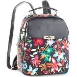 Plecak NOBO - NBAG-F0240-C020  Czarny. Czarne plecaki damskie Nobo, ze skóry ekologicznej. W wyprzedaży za 159.00 zł.